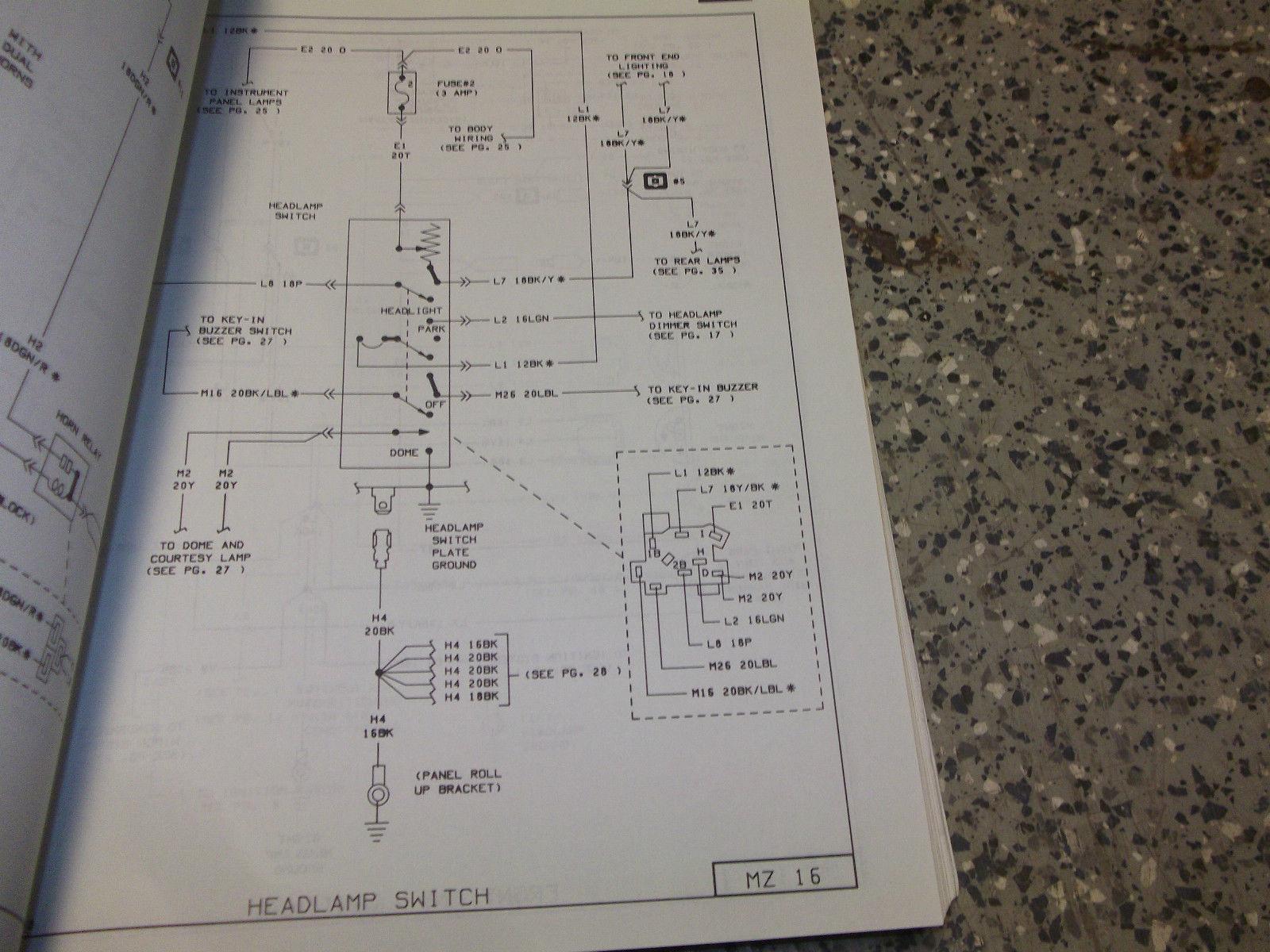 1978 DODGE OMNI PLYMOUTH HORIZON Service Shop Repair Manual ADVANCED EDITION image 5