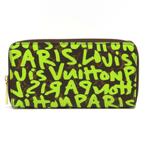 LOUIS VUITTON GRAFFITI M93712 Used Excellent++ condition Long Wallet Fro... - $1,435.93