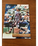 Ozzie Albies Hand Signed Autographed Atlanta Braves Rookie Baseball Card... - $27.90