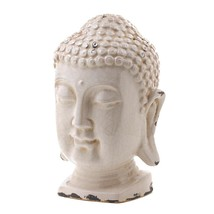 Statue Indoor, Antiqued Living Room Figurine Garden Buddha Table Decor - $43.59