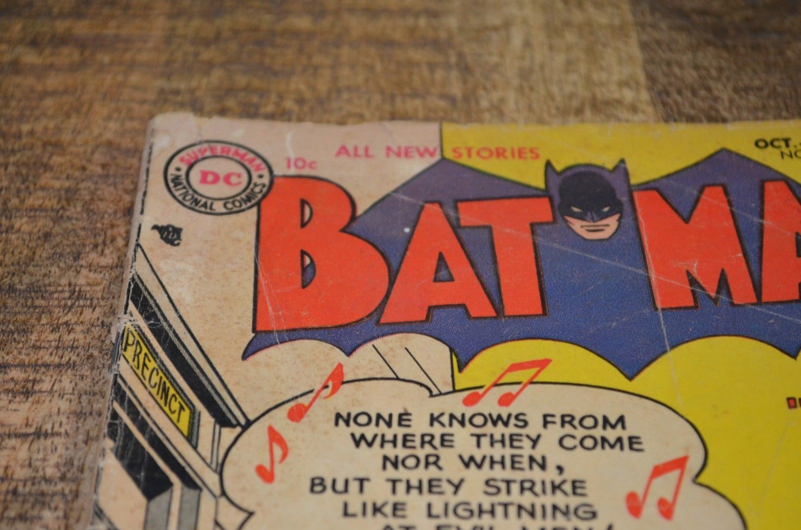Batman #95 Silver Age Rare DC Comics Oct Nov 1955 FR 1.5