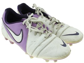 Nike Enganche III CRT360 Womens Purple Soccer Cleats Shoes Sz 10 #524965... - $14.80