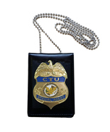 US CTU Special Agent Officer Badge + Holder ID Card Office Counter Terro... - $21.00