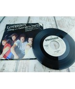 """45 RPM PIC SLEEVE ONLY- NO RECORD- LOVERBOY- """"JUMP""""/ """"TAKE ME TO THE TOP"""" - $2.96"""