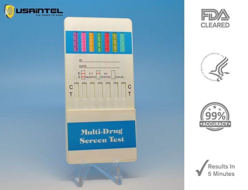 Primary image for 3 Pack 12 Panel Home Drug Testing Kits - K2 Spice Included - Free Shipping!