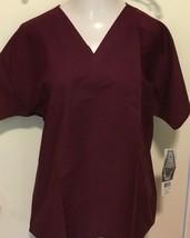 Landau ScrubZone uNISEX Short Sleeve Scrub V-Neck w/ Pocket #71221 - £5.74 GBP