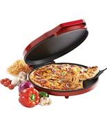Betty Crocker BC-2958CR Pizza Maker, 1440 Watts, Red - $30.18