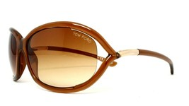 New Tom Ford TF8 602 Brown Authentic Sunglasses 61-16-120 - $106.65