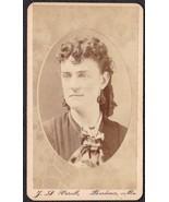 Emma Stone, Sister of Harry J. Stone CDV Carte de Visite Photo Gardiner ... - $17.50