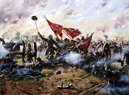 Role War Art oil painting printed on canvas home decor High Water Mark - $12.99+