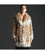 Bobcat Lynx Fur Coat Kourvalanka - $4,851.00