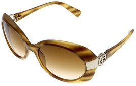 Giorgio Armani Sunglasses Women GA559/S CVEBA Yellow Shell Rectangular - $177.21
