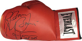 Ray Mancini signed Everlast Left Red Boxing Glove w/ dual Boom Boom & HOF 2015-  - $68.95