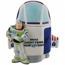 Walt Disney Toy Story Buzz Lightyear and Spaceship Ceramic Cookie Jar 2011 NEW - $67.72