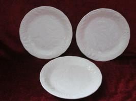 """Nikko Woodbury White set of 3 Bread 6 3/4"""" plates - $16.78"""