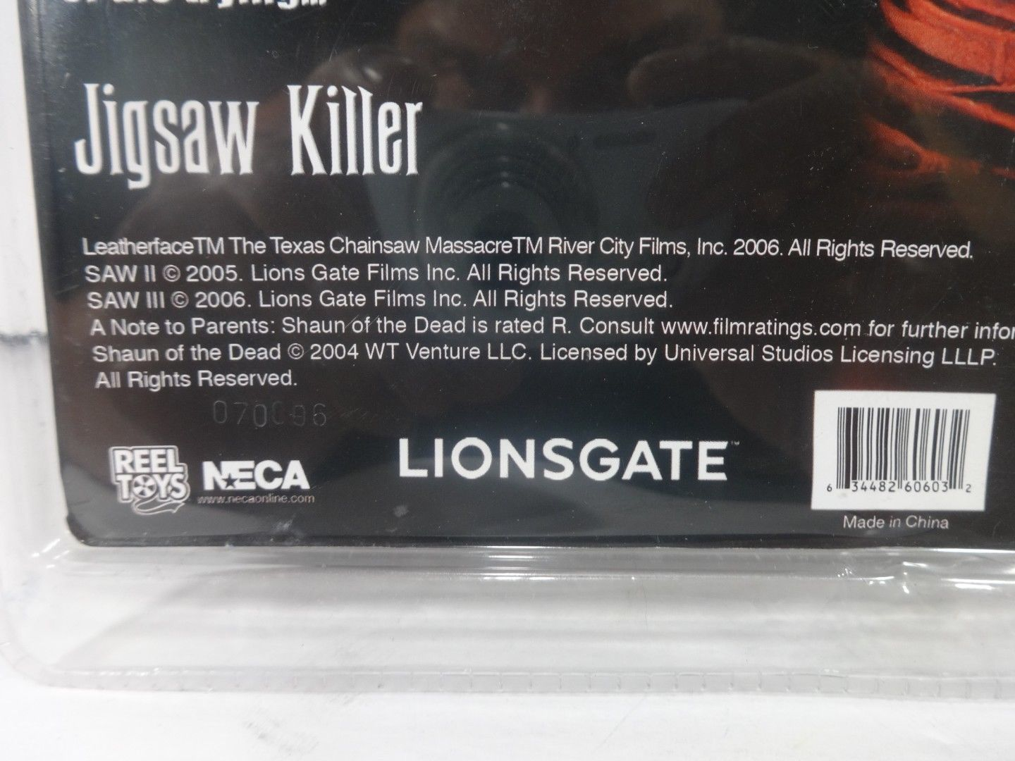 Saw Neca Cult Classics Hall Of Fame  Jigsaw Killer Action Figure