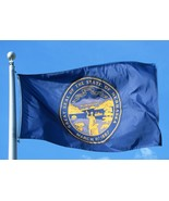 Allied Flag 5 x 8 Outdoor Nylon State Flag Nebraska  60-100-10181 - $57.93