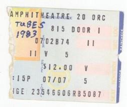 RARE The Tubes 8/15/83 Los Angeles CA Universal Amphitheatre Ticket Stub! - $2.96