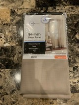 Mainstays- 84-Inch Tan Sheer Panel - $9.95