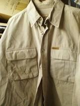 Vntg Woolrich Beige Jeans Jacket Xl - 3XL 100% Cotton - $23.38