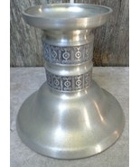 Nordic Norsk Norwegian Norway Pewter Candlestick Holder Haugrud - $28.00
