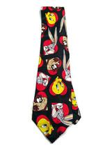 Looney Tunes 100% Silk Bugs, Taz & Tweetie Hearts Valentine Tie - $9.89