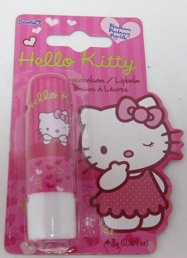 HELLO KITTY lip balm/ chapstick -1 pack - Made in Germany-FREE SHIPPING