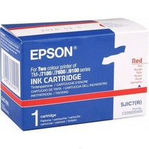 Epson S020405 Red Ink Cartridge For TM-J7100 TM-J7600 TM-J9100 - $27.72