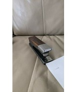 Vintage MCM Stapler ACCO 20 Wood/Chrome Retro Desk USA - $14.85