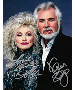 Kenny & Dolly Autographed Signed 8 x 10 Photo REPRINT  - $11.95