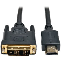 Tripp Lite P566-006 HDMI to DVI Digital Monitor Adapter Video Cable, 6ft - $49.37