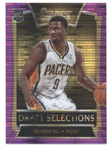 2013-14 Panini Select Draft Selections Prizms Purple #21 Solomon Hill Pacers NM- - $16.00