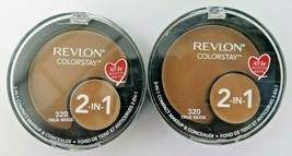 Revlon Colorstay 2-In-1 Compact Makeup & Concealers *Choose your shade* - $11.98