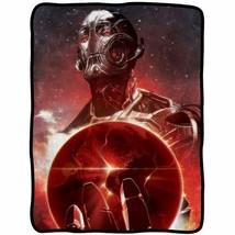 Avengers: Age Of Ultron Big Red Earth Fleece Throw Blanket - $29.65