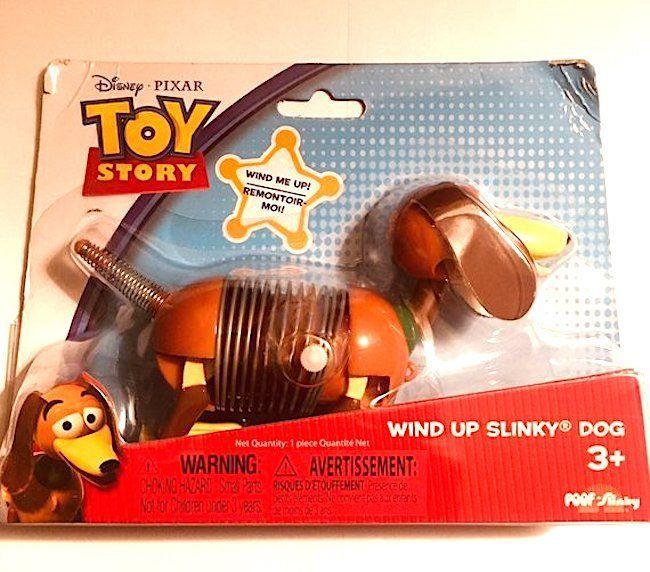 Disney Pixar MinI  Toy Story Wind-Up Slinky Dog