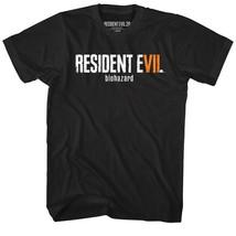 Resident Evil VII 7 Biohazard Logo Men's T Shirt Zombie Undead Hunter Ca... - $20.50+