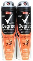 2 Degree Men Motionsenser Dry Spray Adventure 48 Hour Anti-Perspirant 3.80 oz - $26.99