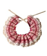 Retro Pink Lace Collars European Style Beads Handmade Cat/Dog Necklace 8... - $16.60