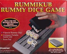 1995 Pressman Rummikub Rummy Dice Game - $12.82