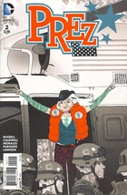 (CB-6} 2015 DC Comic Book: Prez #2 - $2.00