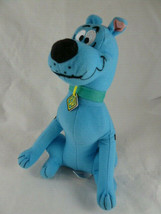 """9"""" Blue Scooby-Doo Plush Toy Factory collar and tag - $7.91"""