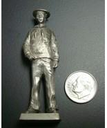 Franklin Mint Pewter 1918 Navy Yeoman World War II Edition 1979 Release - $4.95