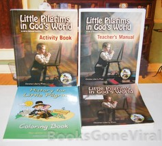 Little Pilgrims in God's World Set Work-text, Activity Book & Teacher's ... - $33.96