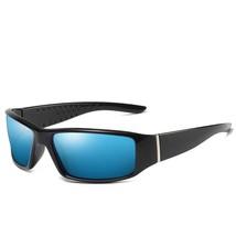 Samll Polarized Sunglasses Men Brand Design Rectangle Mirror Sport Vinta... - $18.33