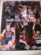 1994 Fleer 6 card NBA Jam Session sheet Anferne Hardaway + David Robinson - $2.99