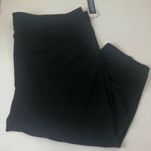 Old Navy Harper Mid-Rise Womens Plus Size 28 Dress Pants Black Wrinkle Free - $18.55