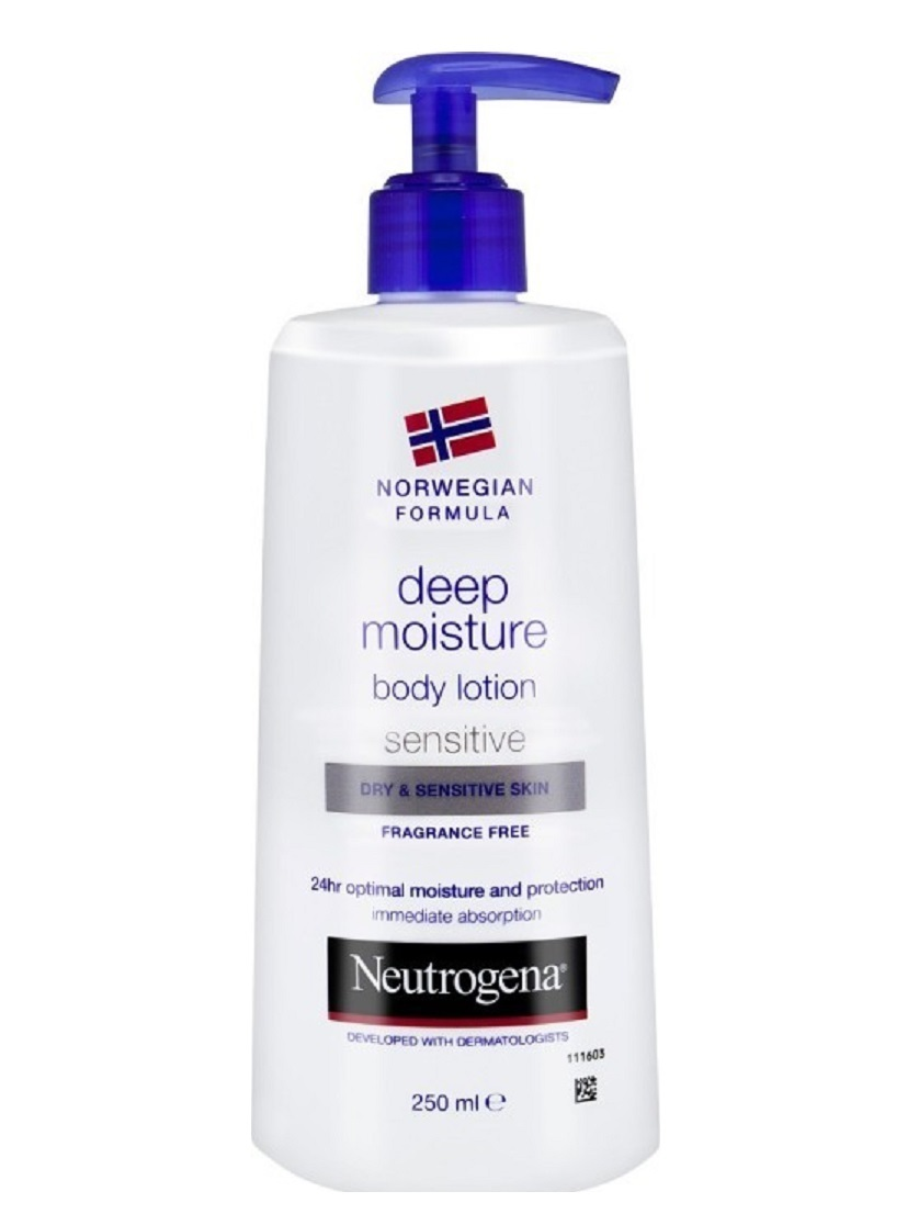 Neutrogena Norwegian Formula Deep Moisture Body Lotion Dry/Sensitive Skin 250ml