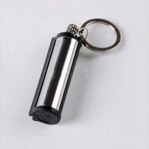 1 X Survival Camping Emergency Fire Starter Flint Match Lighter Plastic Cylinder