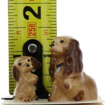 Hagen Renaker Miniature Dog Cocker Spaniel Mama and Pup Ceramic Figurine Set image 9