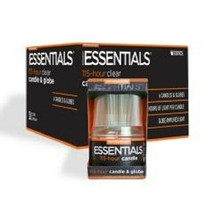 Six Pack of 115+ Hr Clear Candles & Globes - $30.84